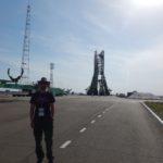 Soyuz launch pad