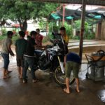 bike wash in Pakse
