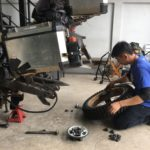replacing tyres