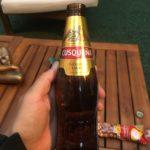first beer in Santiago