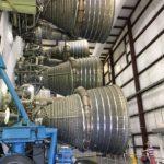 Saturn V 1st stage engines