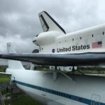 Space Shuttle mockup on an Boeing